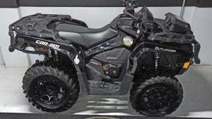 Quadriciclo, Can-Am, Outlander, 1.000 cc, V-Twin, Rotax, Off-road, Guincho, LinQ, equipado