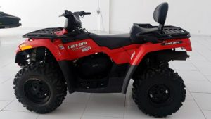 ATV, Outlander 400 Max, Rotax, 400 cc, 2 lugares, off-road