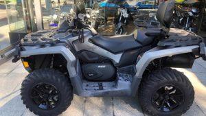 Can-Am Outlander 850 Max XT, 2 lugares, Rotax V-Twin, ATV, off-road, quadriciclo